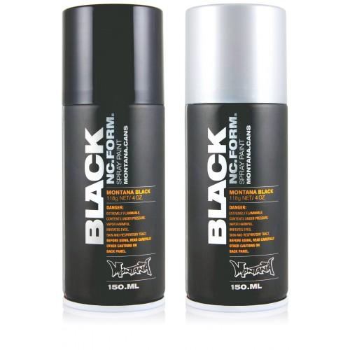 barcelona montana black graffiti spray 150