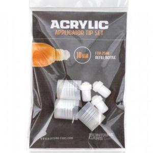 Puntas de squeezer para acryliv refill 25ml