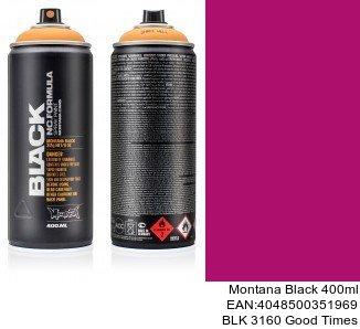 montana black 400ml  BLK 3160 Good Times pinturas para coche en spray