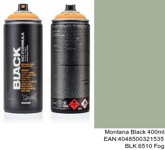 montana black 400ml  BLK 6510 Fog pintura en aerosol para autos precio