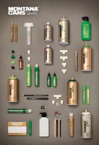 Montana Cans Gold 205x300 La Mejor Marca de Spray