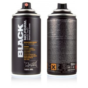 monta black 150ml de montana colores barcelona anden graffiti gallery