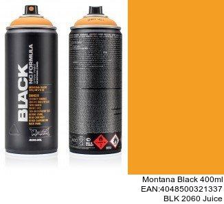 montana black 400ml  BLK 2060 Juice spray metalizado para coche