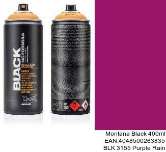 montana black 400ml  BLK 3155 Purple Rain spray de laca para coche