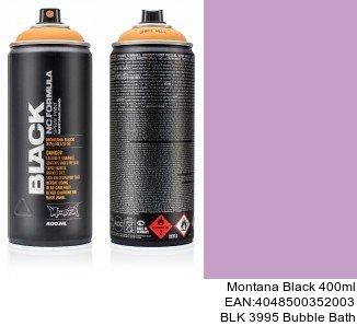 montana black 400ml  BLK 3995 Bubble Bath pintura en spray para coche en huelva