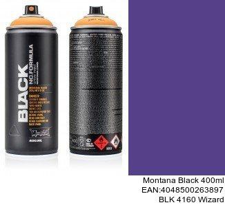 montana black 400ml  BLK 4160 Wizard spray para llantas coche