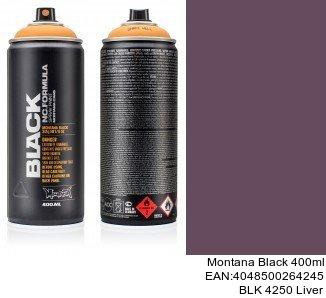 montana black 400ml  BLK 4250 Liver pintura spray para coches online