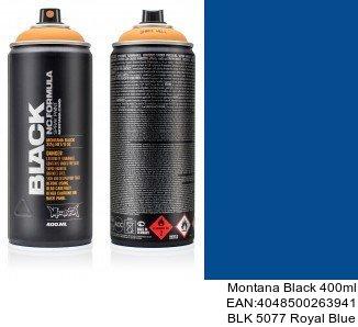 montana black 400ml  BLK 5077 Royal Blue venta pintura spray para coches