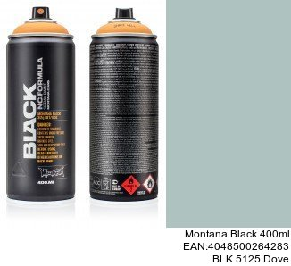 montana black 400ml  BLK 5125 Dove venta de spray para coches