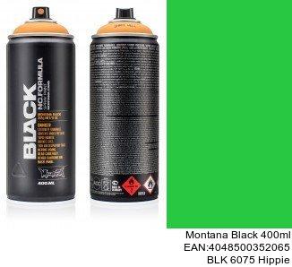 montana black 400ml  BLK 6075 Hippie pintura para coches en spray tenerife