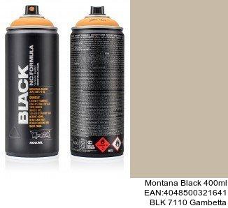 montana black 400ml  BLK 7110 Gambetta montana cans graffiti black spray