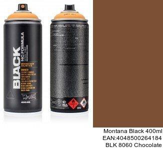 montana black 400ml  BLK 8060 Chocolate tienda online spray montana cans