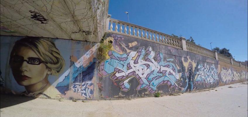 donde pintar graffiti