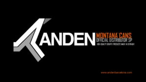 Logo ANDEN Montana Cans 300x169 Tienda Graffiti Online Montana Cans España